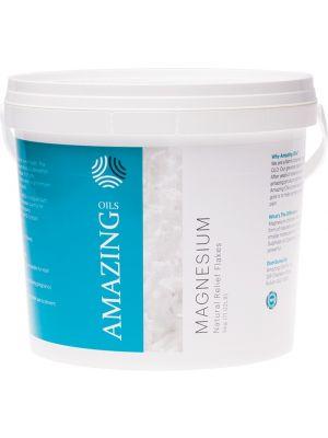 AMAZING OILS Magnesium Bath Flakes Magnesium Chloride 5kg
