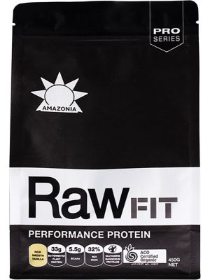 AMAZONIA Performance Protein Rich Smooth Vanilla 450g