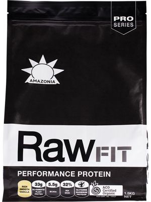 AMAZONIA Performance Protein Rich Smooth Vanilla 1.5kg