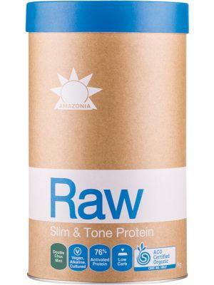 AMAZONIA Slim & Tone Protein Double Choc Mint 1kg