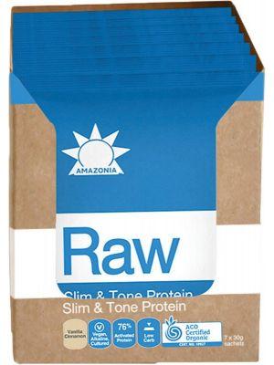 AMAZONIA Slim & Tone Protein Vanilla & Cinnamon 7x30g