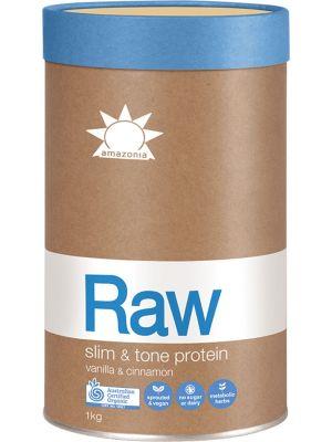 AMAZONIA Vanilla Cin. Slim & Tone Protein 1kg