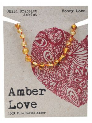 AMBER LOVE Honey Child Bracelet 14cm