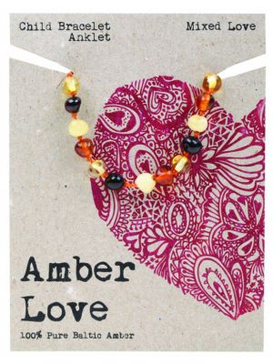 AMBER LOVE Mixed Child Bracelet 14cm