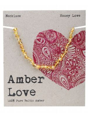 AMBER LOVE Honey Child Necklace 33cm