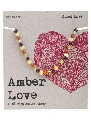 AMBER LOVE Multi Child Necklace 33cm