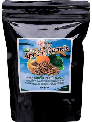 APRICARE Organic Apricot Kernels 500g