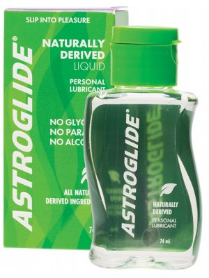 ASTROGLIDE Personal Lubricant Naturally Derived Liquid 74ml
