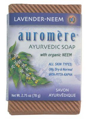 AUROMERE Neem Soap Lavender 78g