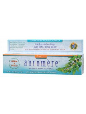 Auromere Licorice Toothpaste 117g