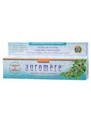 Auromere Licorice Toothpaste 117g