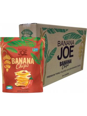 BANANA JOE Banana Chips Thai Sweet Chili 6x46.8g