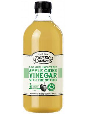 Barnes Naturals Apple Cider Vinegar 1L
