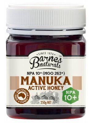 Barnes Naturals Manuka Active Honey NPA10+ 250g