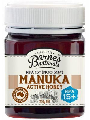 Barnes Naturals Manuka Active Honey NPA15+ 250g