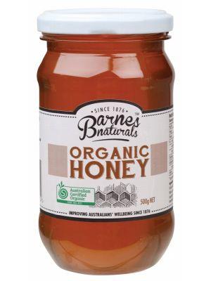Barnes Naturals Organic Honey 500g