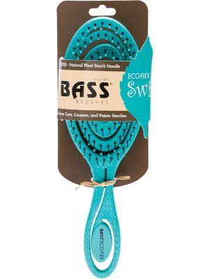BASS BRUSHES Bio-Flex Detangler Hair Brush Made From Natural Plant Starch 1