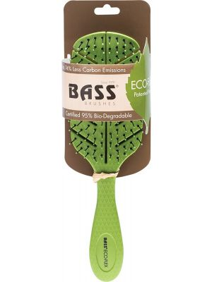 BASS BRUSHES Eco-Flex Detangler Hair Brush Made From Natural Plant Starch 1