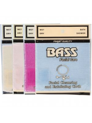 Bass Facial Care Exfoliation Facial Cloth 1