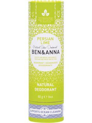 BEN & ANNA Natural Soda Deodorant Stick Persian Lime 60g