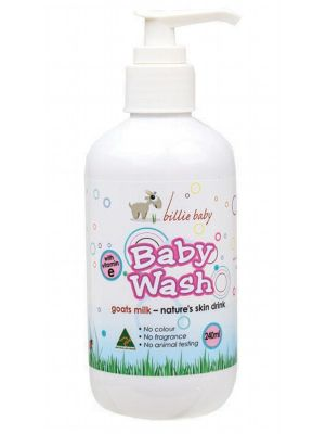 Billie Baby Baby Body Wash 250ml