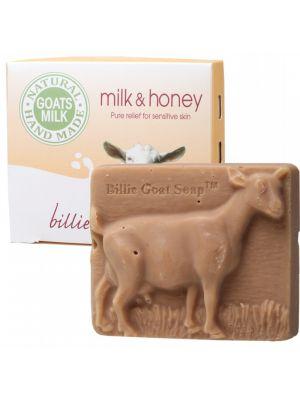 Billie Goat Soap Milk & Honey Soap 100g