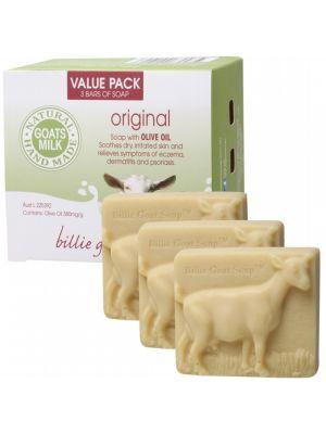 BILLIE GOAT SOAP Soap Value Pack 3x100g