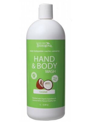 BIOLOGIKA Coconut Hand & Body Wash 1L