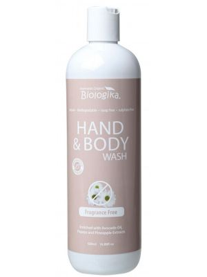 BIOLOGIKA F/ Free Hand & Body Wash 500ml