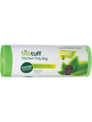 BIOTUFF Kitchen Tidy Bag Small Bags - 8L 25