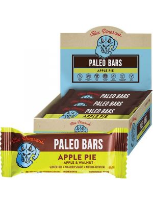 BLUE DINOSAUR Paleo Bars Apple Pie - Box Of 12 12x45g