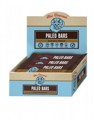 BLUE DINOSAUR Paleo Bars Banana Bread - Box Of 12 12x45g