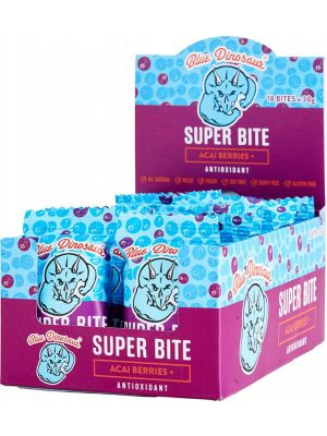 BLUE DINOSAUR Super Bite Acai Berries - Box Of 18 18x30g