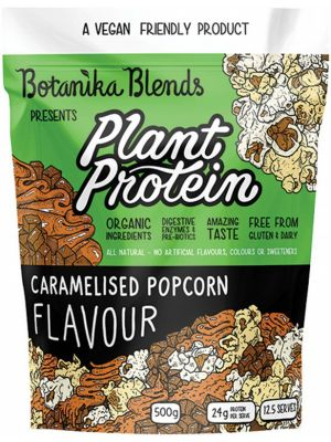 BOTANIKA BLENDS Plant Protein Caramelised Popcorn 500g