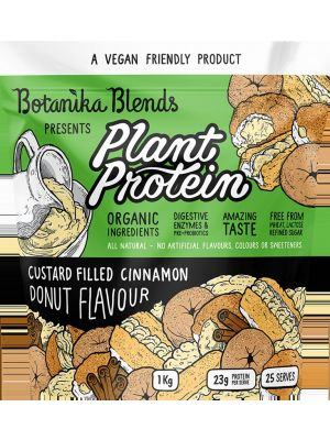 BOTANIKA BLENDS Plant Protein Custard Filled Cinnamon Donut 1kg