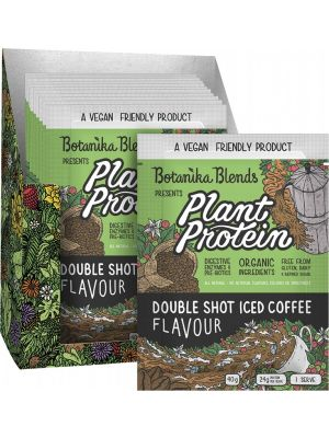 BOTANIKA BLENDS Plant Protein Double Shot Iced Coffee 12x40g