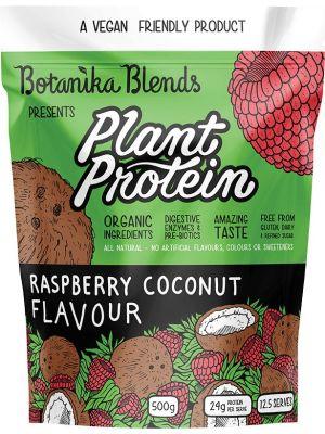 BOTANIKA BLENDS Plant Protein Raspberry Coconut 500g