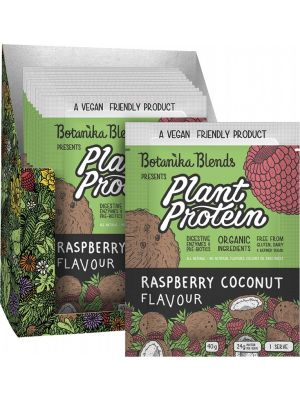 BOTANIKA BLENDS Plant Protein Raspberry Coconut 12x40g