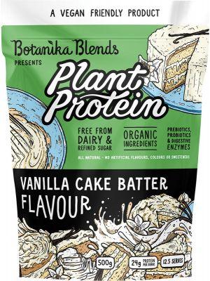 BOTANIKA BLENDS Plant Protein Vanilla Cake Batter 500g