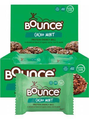 Bounce Cacao Mint Energy Balls 12 x 42g