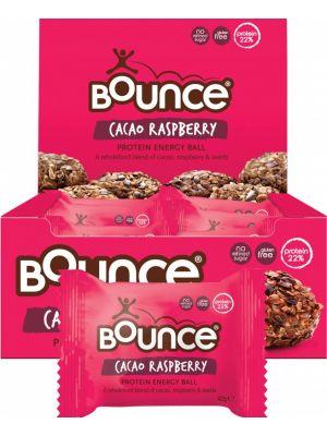 BOUNCE Energy Balls Cacao Raspberry (Box Of 12) 12x42g