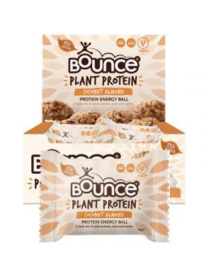 BOUNCE Energy Balls - Plant Protein Coconut Cumin (Box Of 12) 12x40g