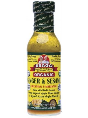 BRAGG S/Dressing Ginger Sesame 354ml