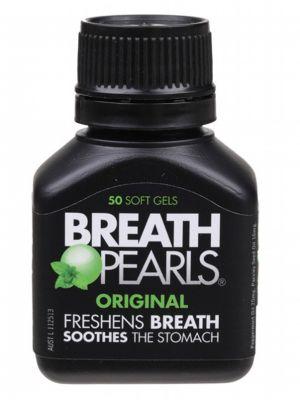 BREATH PEARLS Breath Freshener - Original 50 caps
