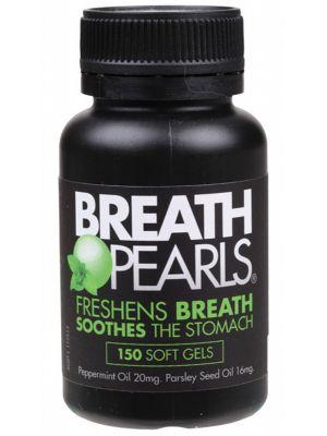 Breath Pearls Breath Freshener 150 caps