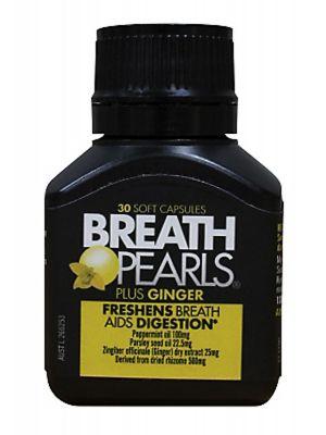 BREATH PEARLS Breath Freshener - Ginger 30