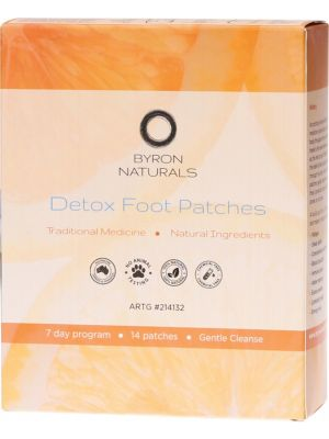 Byron Bay Detox Foot Patches Box of 14