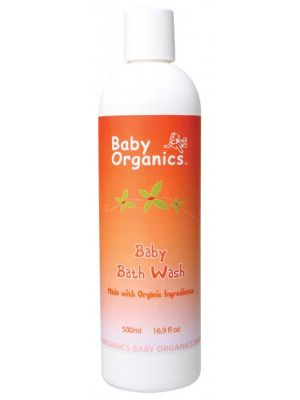 Baby Organics Baby Bath Wash 500ml