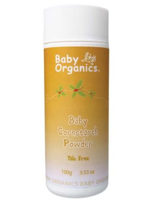 Baby Organics Baby Cornstarch Powder 100g