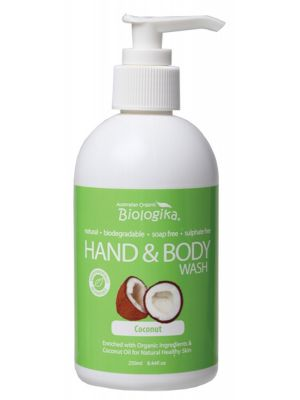 Biologika Coconut Hand & Body Wash 250ml